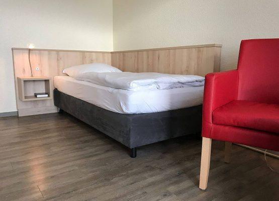 Rügen Hotel EZ Seeseite Bett